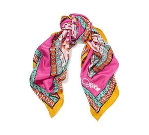 A Diane von Furstenberg printed silk-twill scarf