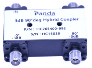 26.5 to 40GHz 3dB 90deg Hybrid Coupler