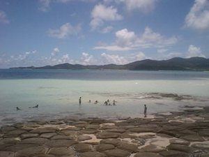 沖縄の家族旅行
