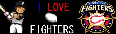I love FIGHTERS